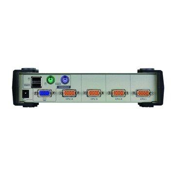 CS84U 4埠U+P KVM Switch