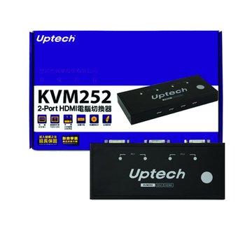 KVM252 2埠HDMI KVM Switch