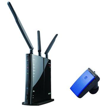 WZR-HP-G450H+無線藍芽耳機