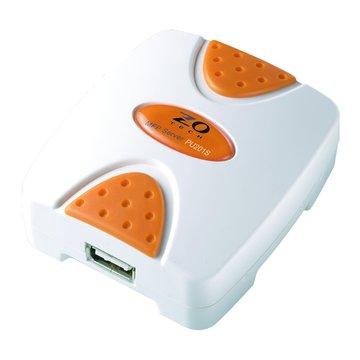 Zero One 零壹 PU201S 1埠USB2.0印表伺服器/限Windows