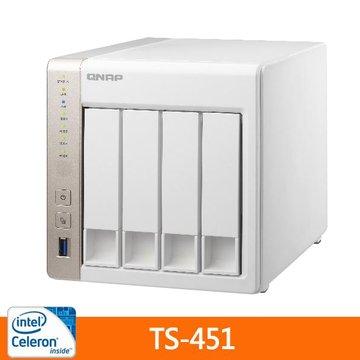 TS-451 4Bay網路儲存伺服器