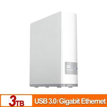 WD 威騰 My Cloud 3TB雲端儲存系統