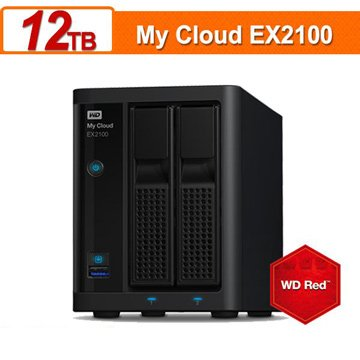 My Cloud Expert EX2100 12TB(6TB*2)雲端儲存系統
