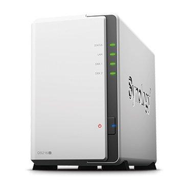 DS216j 2Bay網路儲存伺服器
