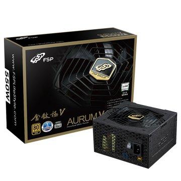 金鈦極V 550 / 550W / 80+金牌電源供