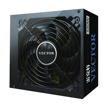 CyberSLIM 大衛肯尼 VECTOR 550W 電源供應器