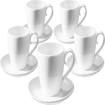 TIAMO白瓷咖啡杯組 SP-1611