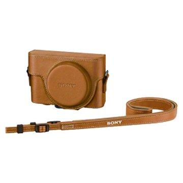 LCJ-RXC/CC(RX100/RX100II) 原廠相機包/駝色