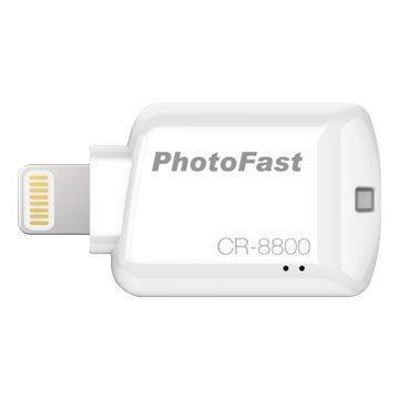 PhotoFast  iOS microSD讀卡機-白
