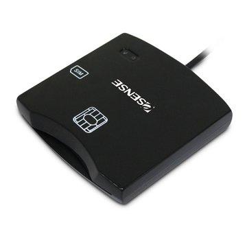E-SENES 逸盛 CR4 ATM智慧晶片讀卡機(黑)