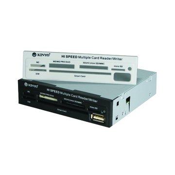 KINYO 金葉內接式KCR-312多合一晶片讀卡機