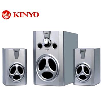 全新金葉 KY-480 2.1全木質立體擴大音箱800W