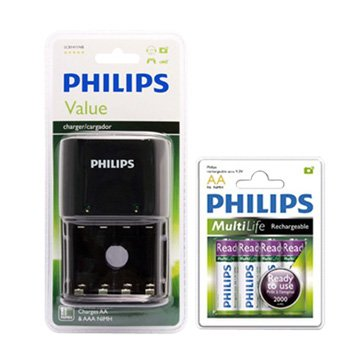 胎壓贈品:飛利浦 4號4入電池+經濟型鎳