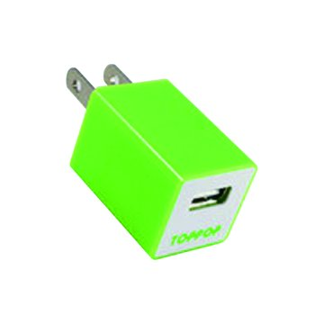 TOPPOP 方塊USB 電源轉換器-綠