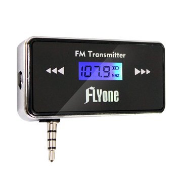 FLYone FM-T1B 無線FM音樂傳輸器(第二代可折收納版)