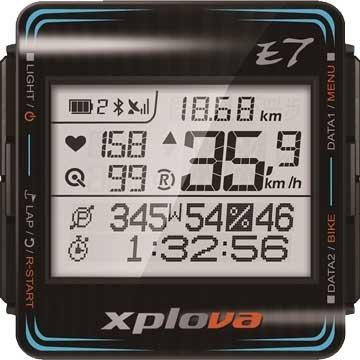 XplovaE7GPS智慧自行車錶