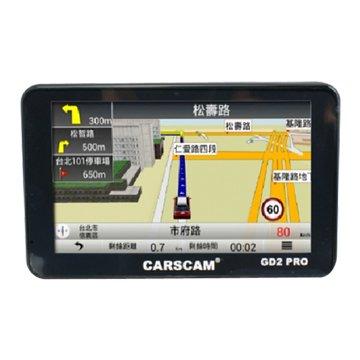 CARSCAM行車王 GD2 PRO 測速GPS衛星導航機(福利品出清)