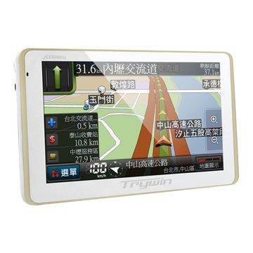 3DX II (3合一)導航行車記錄器-白(福利品出清)