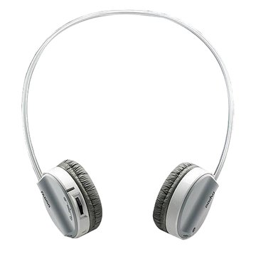 雷柏 H3050-灰-2.4G無線耳機麥克風