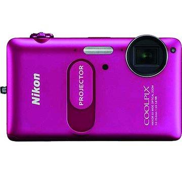 S1200pj桃紅2.3''1400萬投影相機(福利品出清)