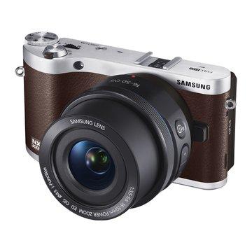 NX300M棕 單鏡(18-55mm)輕單眼_D(福利品出清)