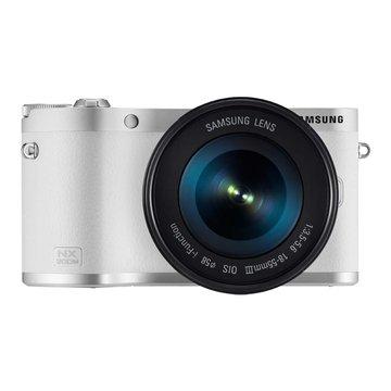 NX300M白 單鏡(18-55mm)輕單眼(福利品出清)