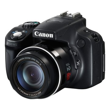 PowerShot SX50HS 黑 類單眼相機(福利品出清)