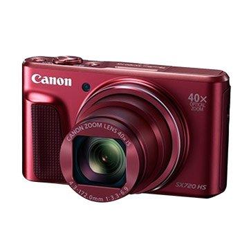 Canon 佳能 PowerShot SX720HS紅2,030萬畫素類單