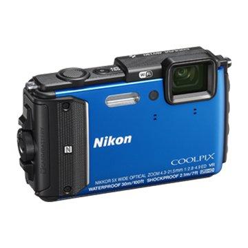 """AW130藍3""""1600萬防水相機"""