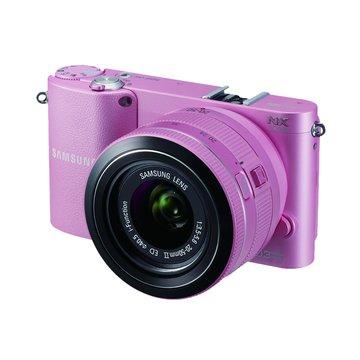 NX1000粉 雙鏡(20-50mm+16mm)單眼相機(福利品出清)