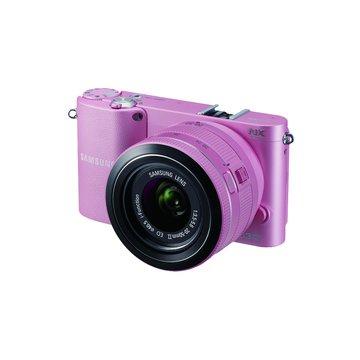 NX1000 粉 單鏡(20-50mm) 單眼相機(福利品出清)
