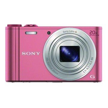 DSC-WX350/P粉/20X 數位相機(福利品出清)