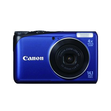 "Canon 佳能 Powershot A2200藍2.7""1410萬(福利品出清)"