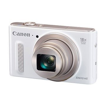 PowerShot SX610 HS 白 類單眼相機(福利品出清)