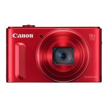 PowerShot SX610 HS 紅 類單眼相機(福利品出清)