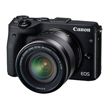 EOS M3 KIT(EFM18-55)黑 輕單眼相機(福利品出清)