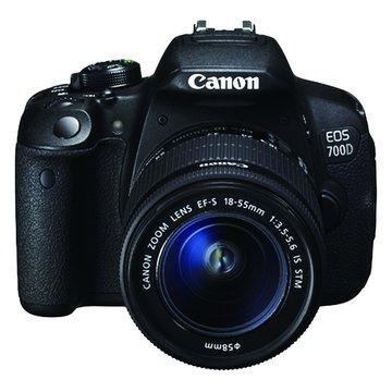 Canon 佳能 700D KIT(18-55+55-250mm) 單眼相機(福利品出清)