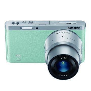 三星 NX Mini 變焦組(9-27mm)綠 輕單眼(福利品出清)
