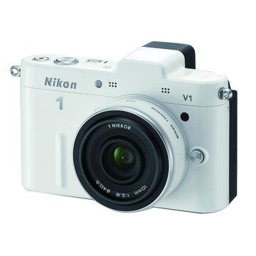NIKON 尼康 V1(10-30+30-110mm)白 單眼相機(福利品出清)