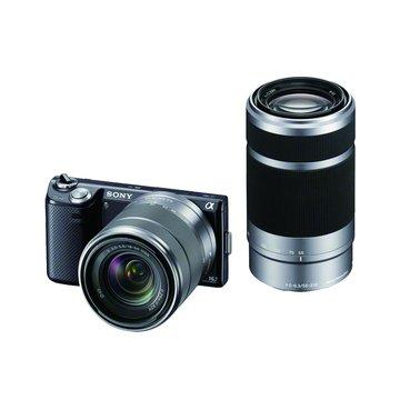 NEX-5NY/B黑(18-55+55-210) 單眼相機(福利品出清)