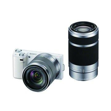 NEX-5NY/W白(18-55+55-210) 單眼相機(福利品出清)