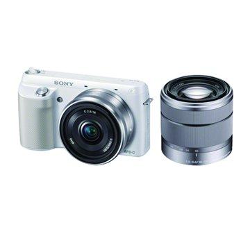 NEX-F3D/WQ白 雙鏡組 單眼相機(福利品出清)