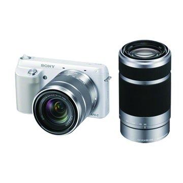 NEX-F3Y/WQ白 雙變焦組 單眼相機(福利品出清)