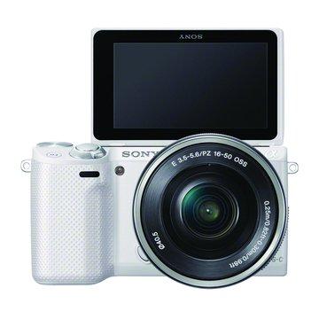 NEX-5RL/WQ白 變焦(16-50)單眼相機(福利品出清)