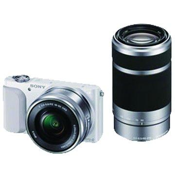 NEX-3NY/WQ白 雙變焦組 單眼相機(福利品出清)