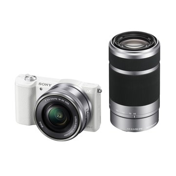 ILCE-5100Y/W白 雙鏡組 輕單眼相機