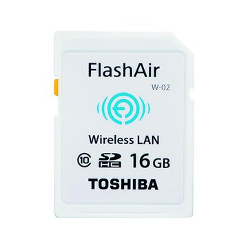 TOSHIBA 東芝 WiFi 相機卡(SDHC 16G CL10)