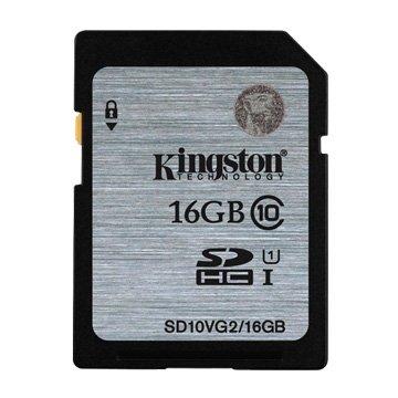 Kingston 金士頓 SDHC 16G U1 C10 記憶卡