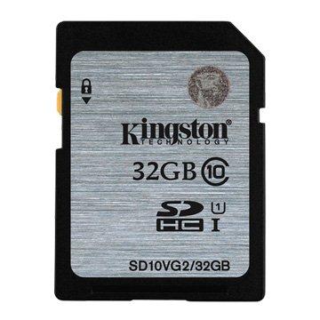 Kingston 金士頓 SDHC 32G U1 C10 記憶卡