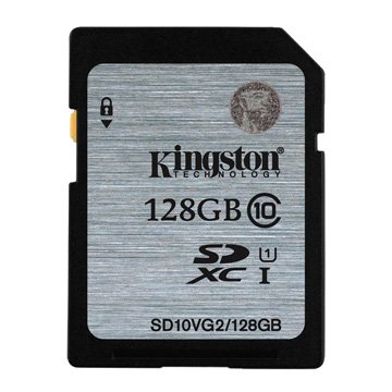 Kingston 金士頓 SDHC 128G U1 C10 記憶卡